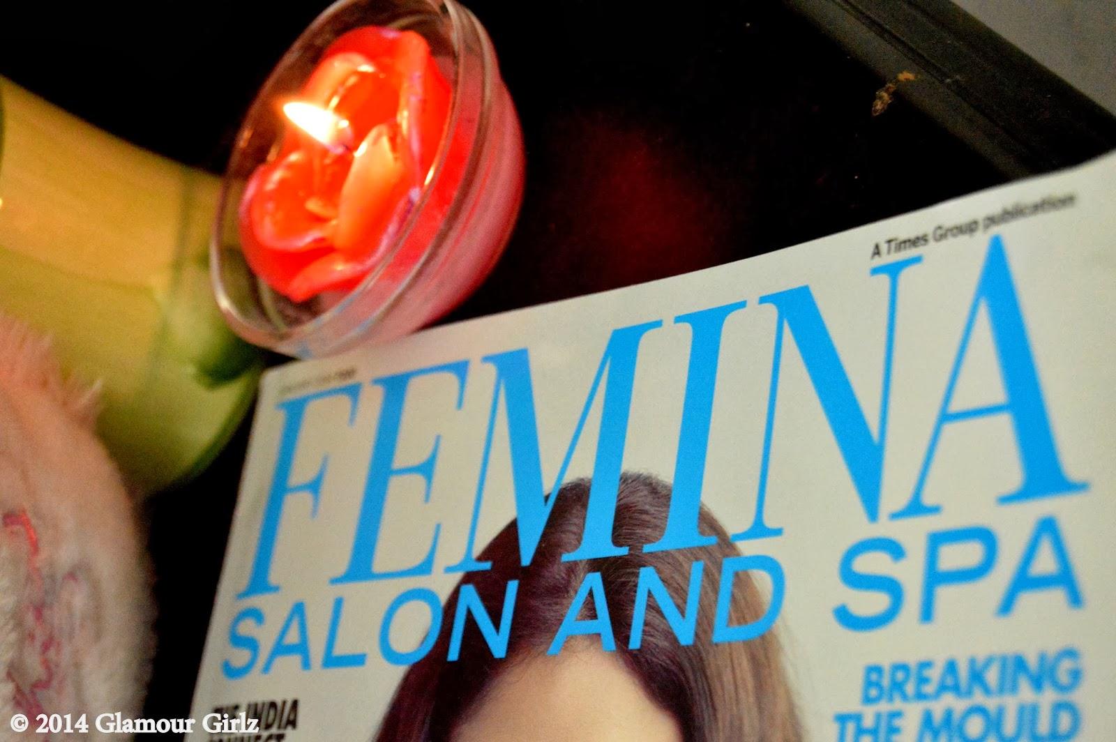 Aditi Rao Hydari, Femina Salon & Spa