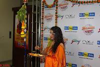 Marath Actrss Urmila Kanitkar Celetes Gudi Padwa in Orange Saree 18.JPG