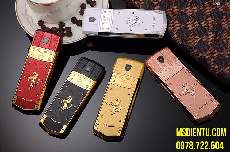 Điện thoại Vertu ferrari trung quốc hongkong đẳng cấp siêu sang dành cho doanh nhân hàng nhái ra mắt giá chỉ 1 triệu đồng