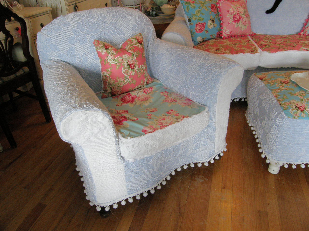 Vintage Chic Furniture Schenectady Ny My New Slipcovered