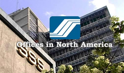 List of SSS Representative Branches/Offices North America