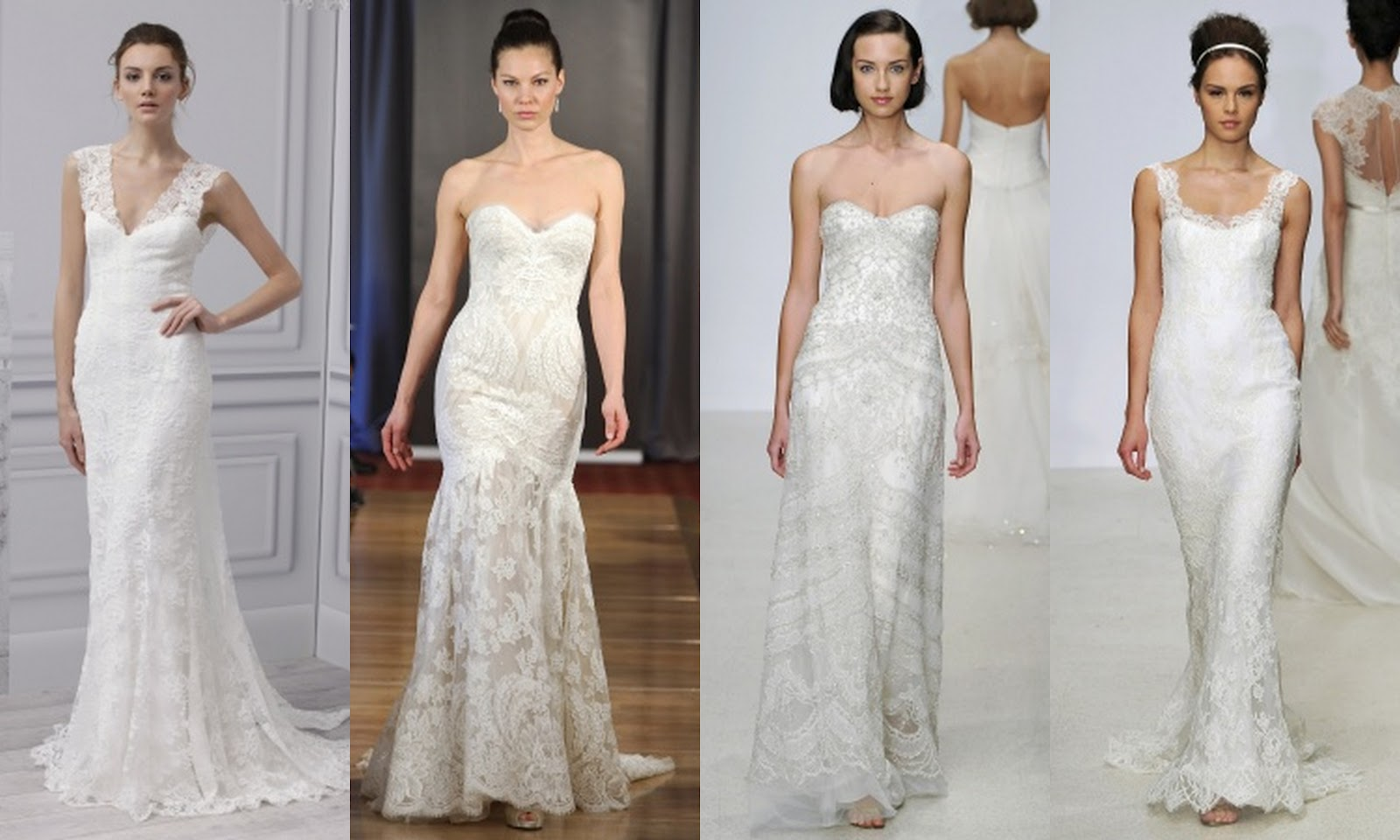 Lace Wedding Gowns: De Lovely Affair: Top 10 Wedding Dress Trends For 2013