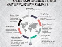 APAKAH ISLAM RAHMATAN LIL'ALAMIN AKAN TERWUJUD TANPA KHILAFAH ?