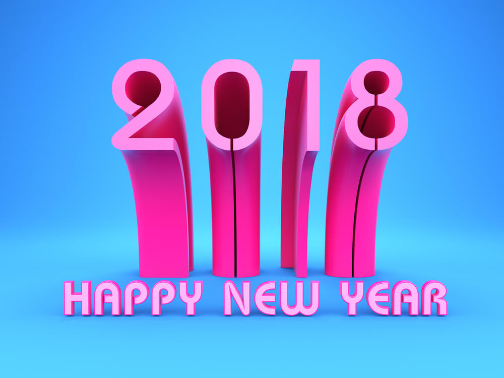 HD New Year 2018 Images