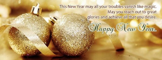 New Year Facebook Cover Photos