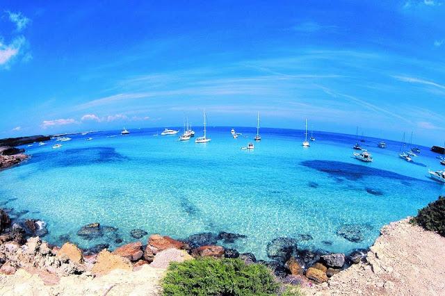 Passeio de bate e volta a Formentera