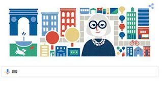 """أحتفال محركات جوجل اليوم  بمئوية ميلاد .. """" جاين جاكوبز """" الصحفية الامريكية"""