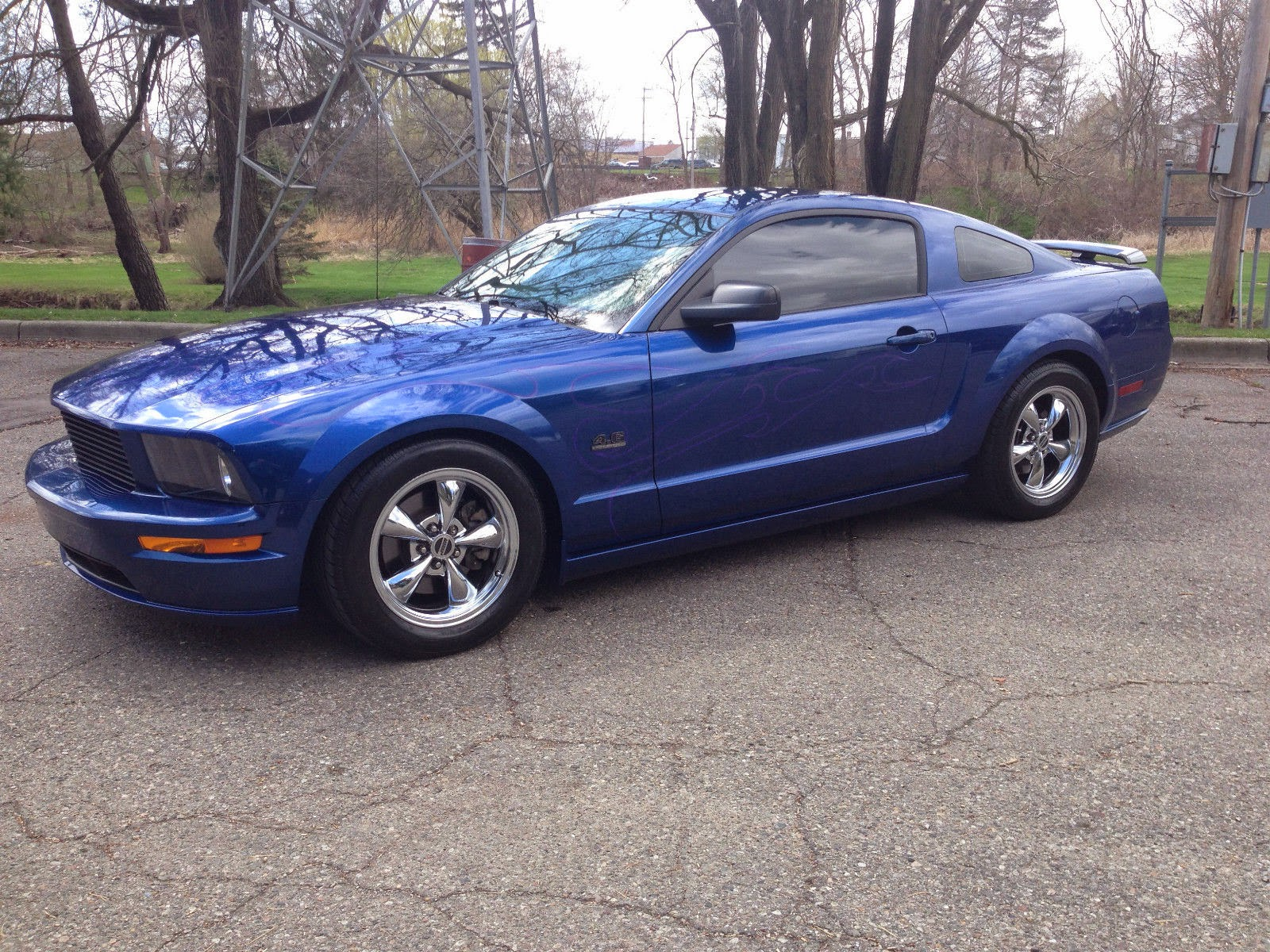 2007 ford mustang gt4 6 custom supercharged for sale american muscle cars. Black Bedroom Furniture Sets. Home Design Ideas