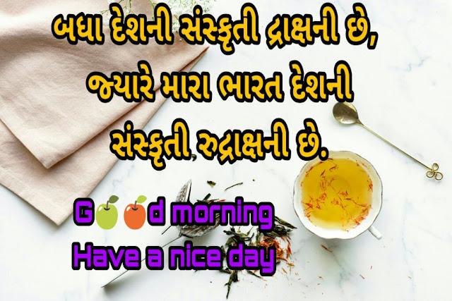 good morning gujarati suvichar gujarati good morning quotes gujarati good morning suvichar good morning message gujarati ma good morning gujarati suvichar text