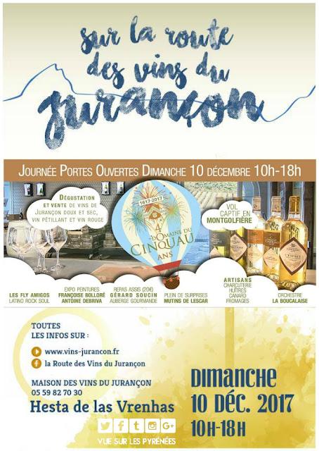Route des Vins du Jurançon Domaine du Cinquau 2017