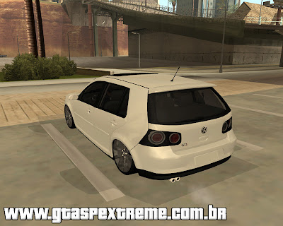 Vw Golf GTI 2008 Edit para grand theft auto