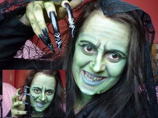 Witches Face Painting Ideas For Halloween