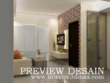 Jasa Design Interior Apartemen Tipe Studio
