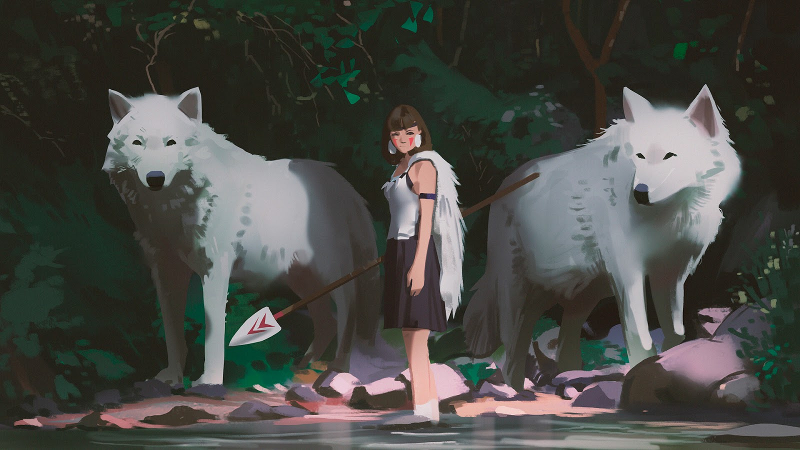 animes anime princess mononoke