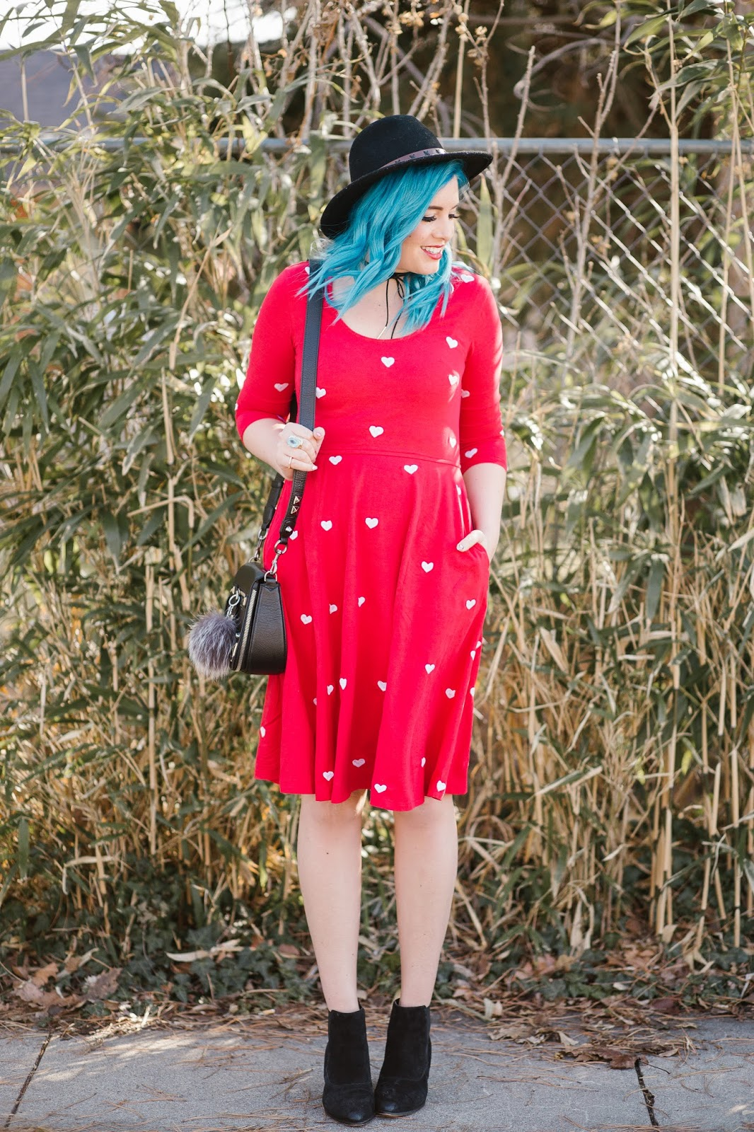 Cute Dress, Heart Dress, Utah Fashion Blogger