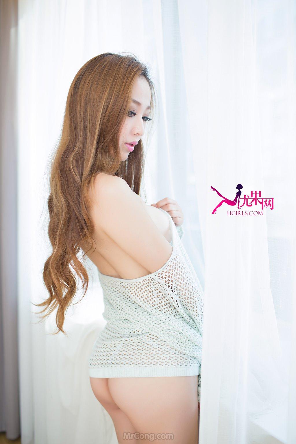 Vẻ quyến rũ nồng cháy của Beauty Liu Jia Qi (刘嘉琦) trong bộ ảnh UGIRLS 091