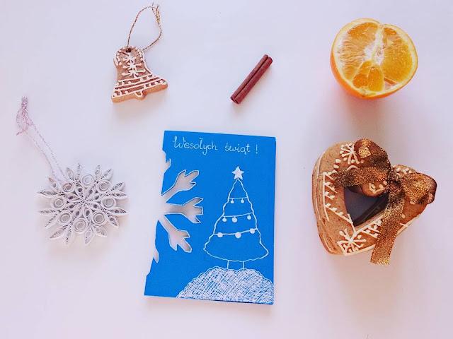 O kartkach i prezentach świątecznych