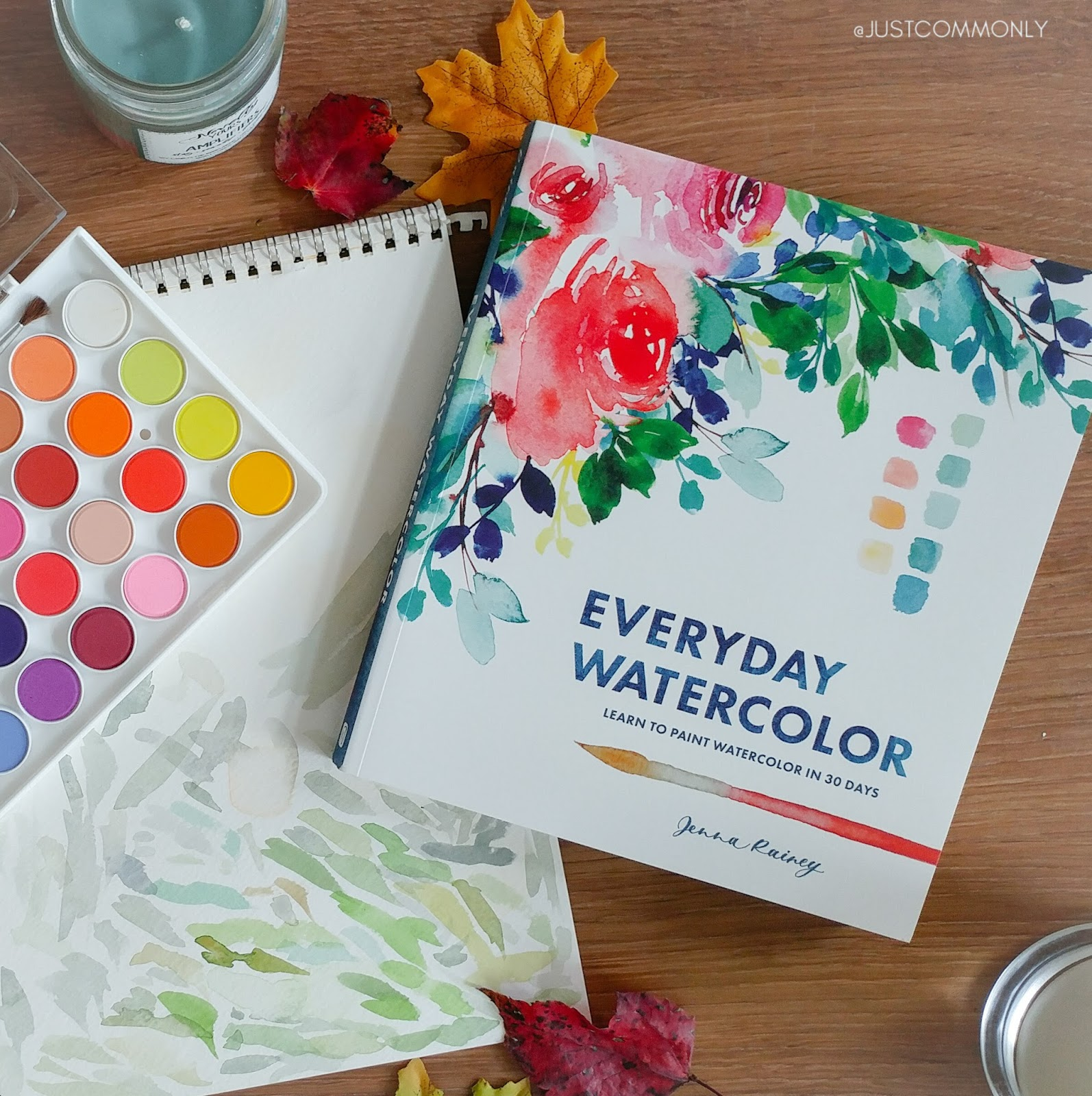 Book Review: Everyday Watercolor: Learn to Paint Watercolor in 30 ...