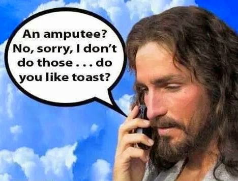 Funny Religious Meme Jesus: Do you like toast?