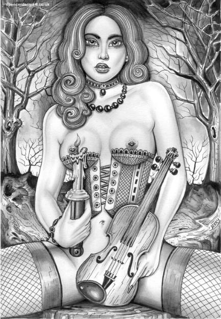 Vio Lynne - Buy Erotic Art Illustration on Artfinder