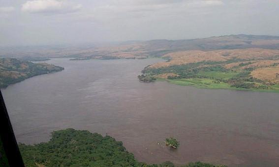 Река Конго далеко не всегда имеет спокойный вид, это самая полноводная река Африки