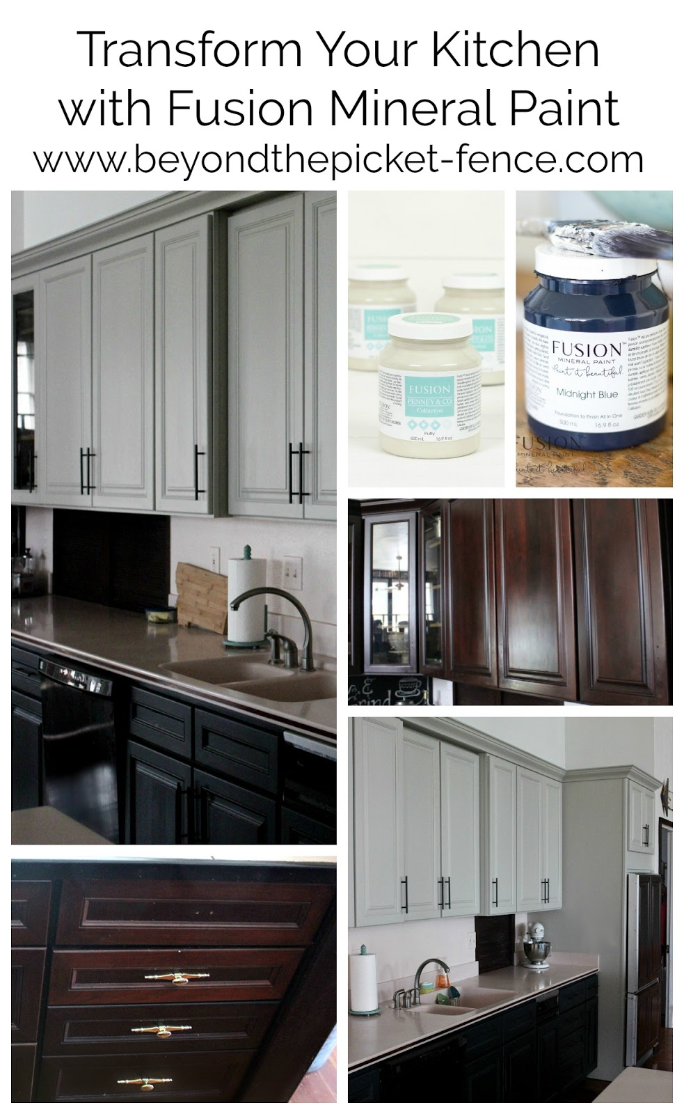 Beyond The Picket Fence: Fusion Mineral Paint Giveaway