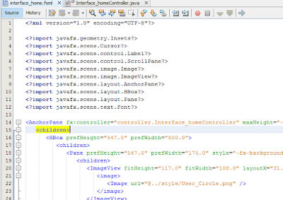 Cara Membuat Action Click Untuk Mengubah Backround Pada JavaFX 4