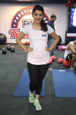 Mehreen Kaur at Fitness Health Club