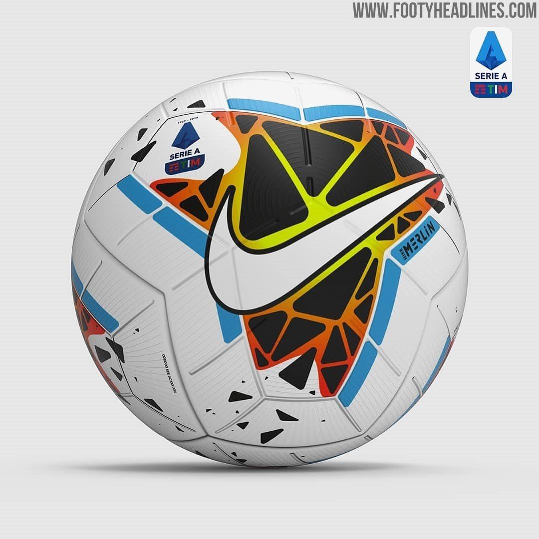 Decir a un lado Apretar Azul  Nike Merlin Serie A 19-20 Ball Revealed - Footy Headlines