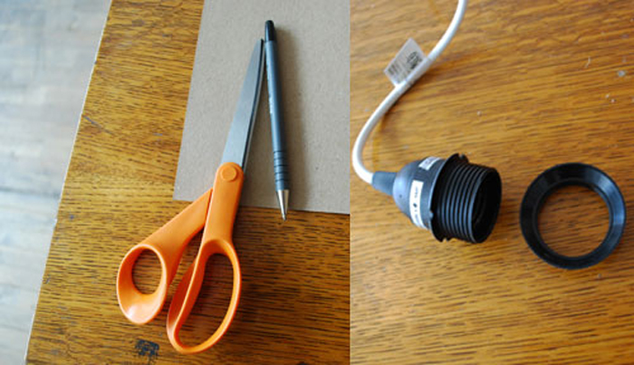 DIY Lampu Rumah Dari Anyaman Kayu - Step 6