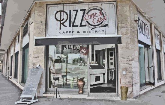 Restaurante e pizzaria Rizzo Come a Casa em Milão