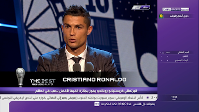 Ronaldo wins the World Player of the Year award