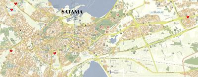 Kartta Tallinnan Kartta Suomeksi