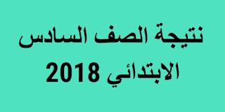 نتيجة الصف السادس الابتدائى محافظة الشرقية 2018 برقم الجلوس الفصل الدراسي الثاني