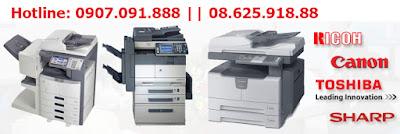 May photocopy cho van phong nho may chinh hang gia tot nhat HCM