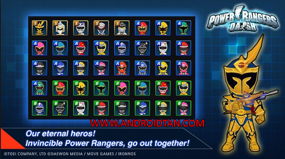 Power Rangers Dash Mod Apk Latest Version