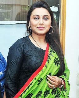 Bollywood Actress Rani Mukherjee