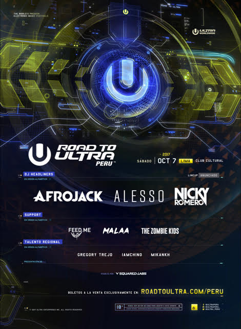 Road To ULTRA Peru Announces Full Lineup