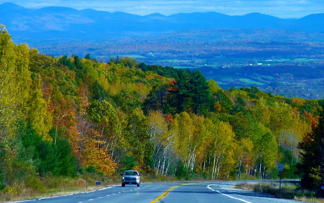 Carretera al Lake Champlain