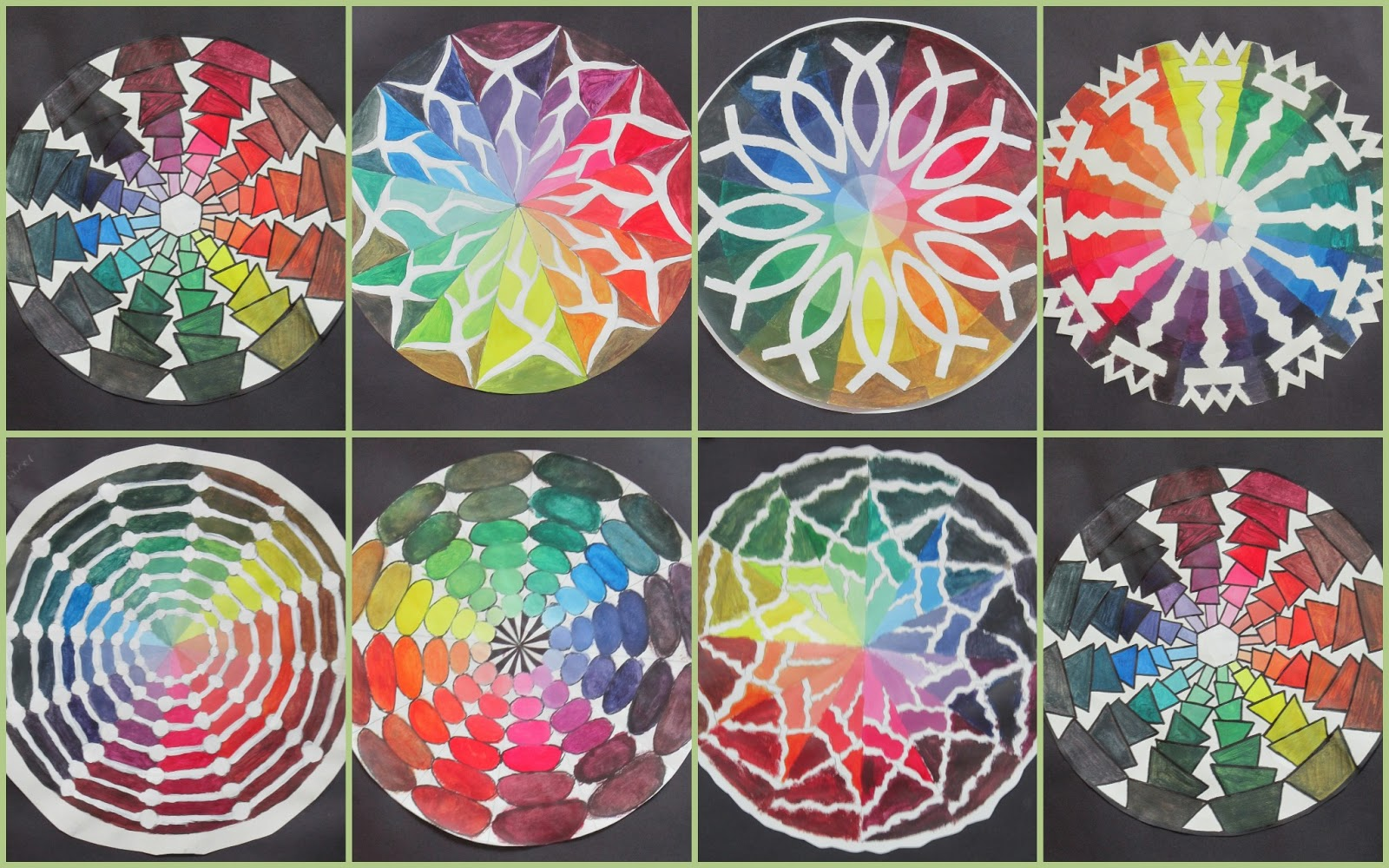 Floyd county high school art department painting - Color wheel for decorating ...