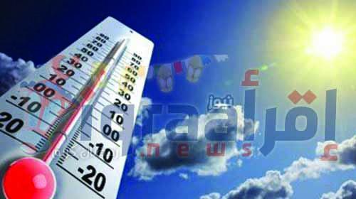 """اخبار مصر غدا الخميس 7-7-2016 """"الارصاد الجوية"""" حالة الطقس ودرجات الحرارة فى مصر غدا 7 يوليو"""