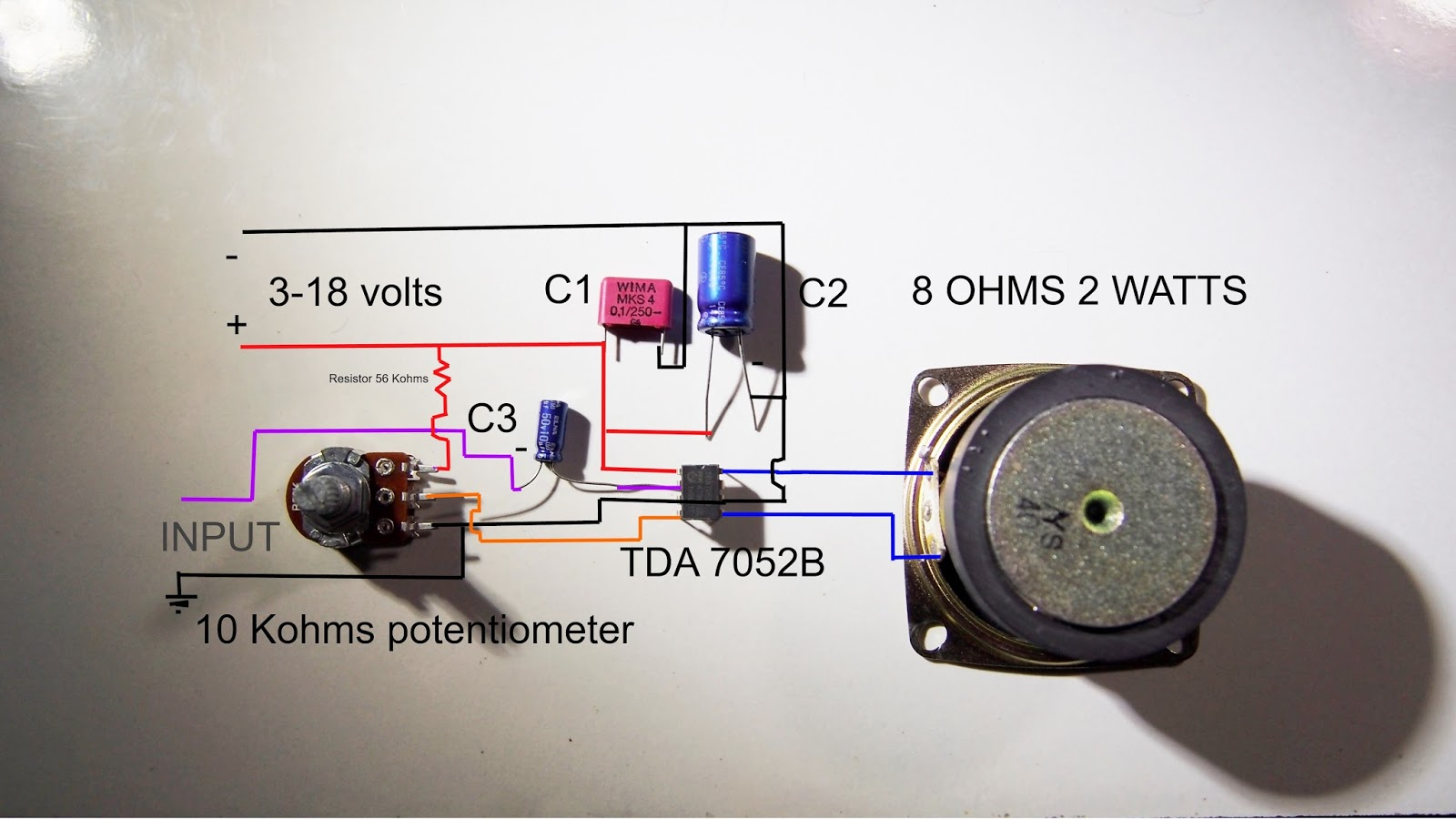 medium resolution of 5 best images of wiring diagram for speaker connection 8 ohm5 best images of wiring diagram
