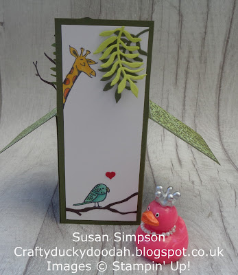 #lovemyjob, #stampinupuk, Animal Outing, Bird Banter, Craftyduckydoodah!, Stampin' Up! UK Independent  Demonstrator Susan Simpson, Supplies available 24/7 from my online store, Stamp 'N Hop,