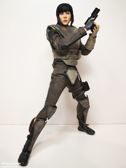 Review de Major 1/6 Exclusive ver. de Ghost in the Shell Movie - Threezero - Scarlett Johansson Motoko Kusanagi