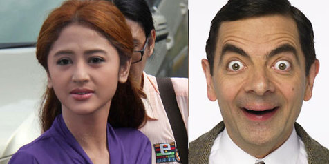 dewi dan mr.bean, mr.bean main film di indonesia, Eowan Atkinson
