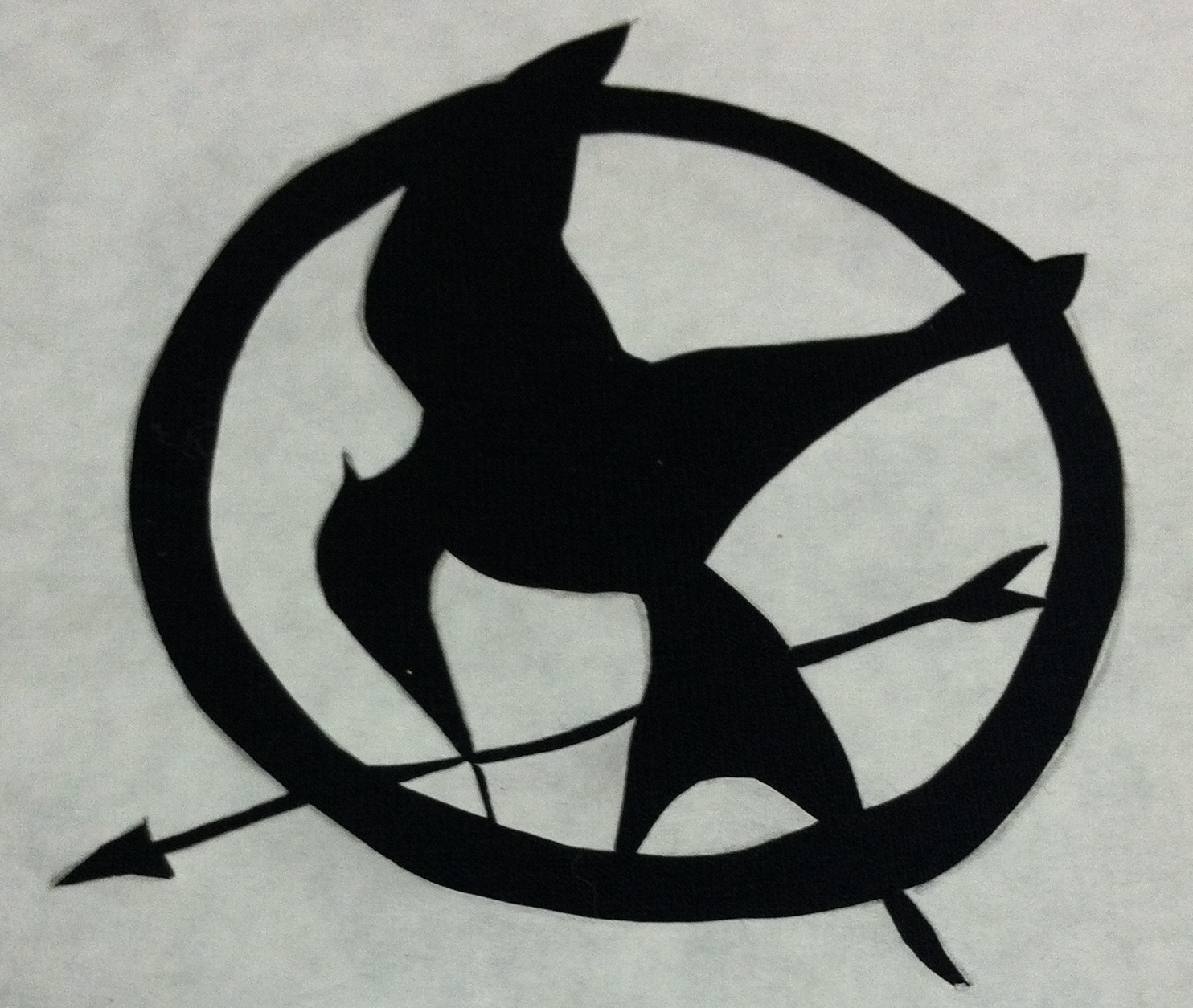 The Hunger Games Mocking Jay · How To Sculpt A Clay ... |Hunger Games Mockingjay Pin Outline