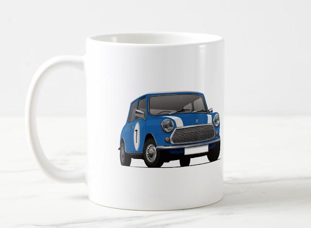 Morris Austin Mini klassikko kahvimuki