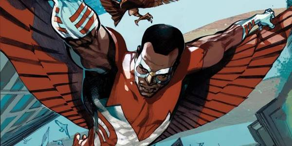 falcon sidekick superhero captain america
