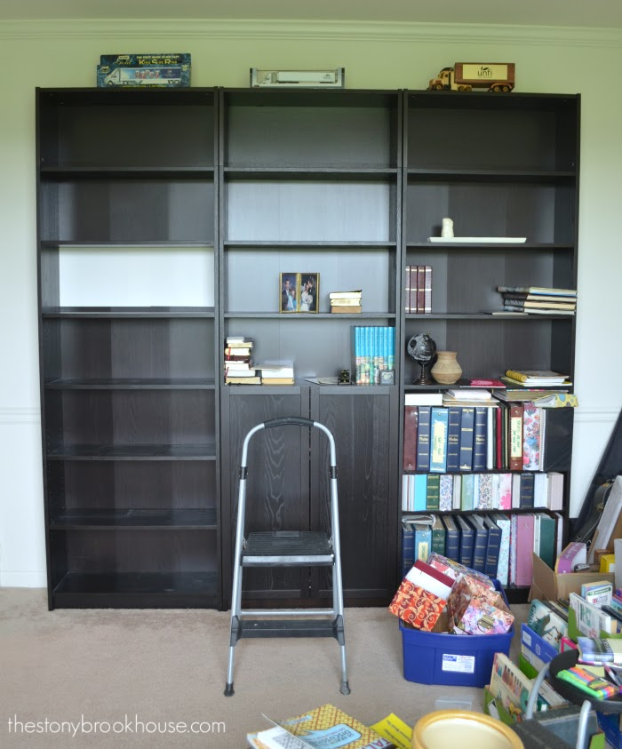 Den Bookshelves