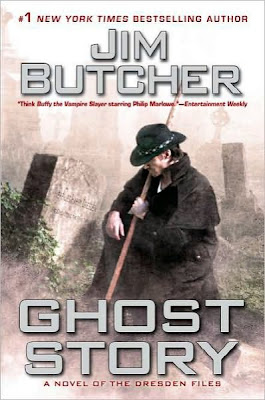 Twitter Contest for Ghost Story by Jim Butcher - August 8, 2011